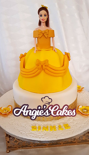 Fabulous Yellow Birthday Character Angies Cakes Funny Birthday Cards Online Fluifree Goldxyz